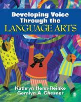 Developing Voice Through the Language Arts PDF