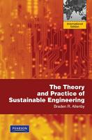 The Theory and Practice of Sustainable Engineering PDF