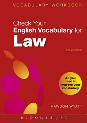 Check Your English Vocabulary for Law PDF