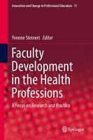 Faculty Development in the Health Professions PDF