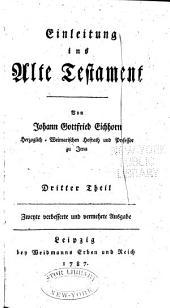 Einleitung ins Alte Testament: Band 3
