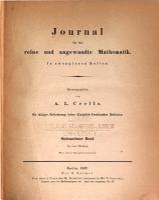 Journal f  r die reine und angewandte Mathematik PDF