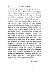 Operette bibliografiche del cav. Giuseppe Molini, con alcune lettere di distinti personaggi, precedute dalle notizie biogr. di esso scritte da G.A.