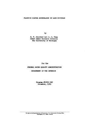 Plankton Diatom Assemblages in Lake Michigan PDF