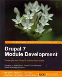 Drupal 7 Module Development PDF