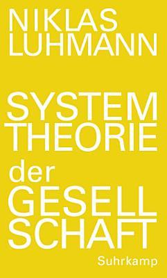 Systemtheorie der Gesellschaft PDF