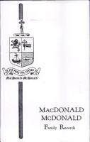 MacDonald  McDonald Family Records PDF
