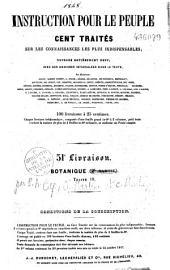 Instruction pour le peuple: cent traités sur les connaissances les plus indispensables