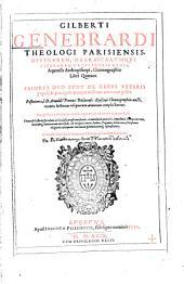 Chronographia: libri quatuor