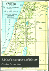 Biblical Geography and History