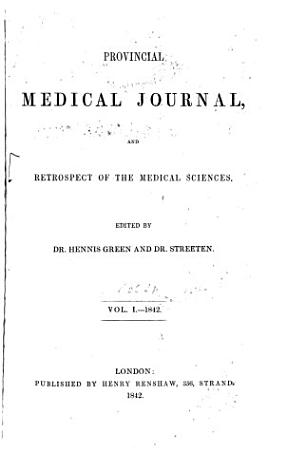 Provincial Medical and Surgical Journal PDF