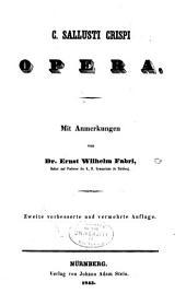C. Sallusti Crispi Opera
