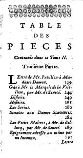 Recueil De Pieces Curieuses Et Nouvelles: Tant en Prosqu'en Vers, Volume2
