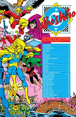 Who s Who  The Definitive Directory of the DC Universe  1985    6 PDF