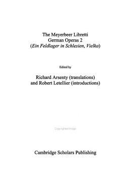 The Meyerbeer Libretti  German operas 2 PDF
