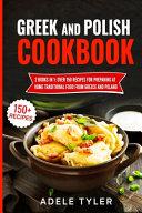 Greek And Polish Cookbook PDF