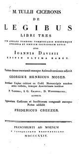 De legibus: libri III