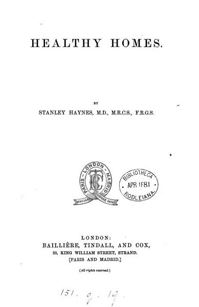 Download Healthy Homes Book