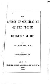 The effects of civilisation on the people in European states