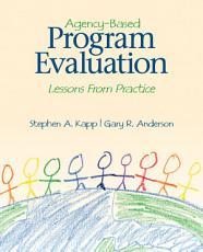 Agency Based Program Evaluation PDF