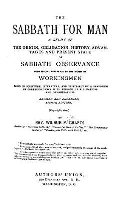 The Sabbath for Man PDF