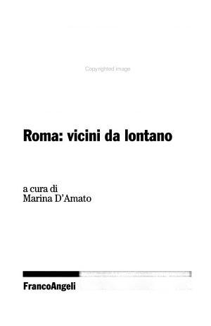 La distanza sociale  Roma  vicini da lontano PDF