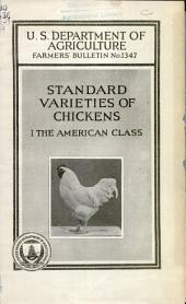 Standard varieties of chickens: the American class