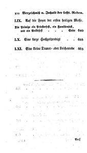 Katholische Geheimniß- und Sittenreden auf alle Sonn- und Festtage: nebst einer Primiz-, Hochzeit- und Leichenrede. Festtäglicher Theil, Teil 2