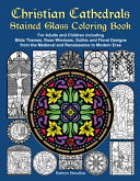 Christian Cathedrals Stained Glass Coloring Book