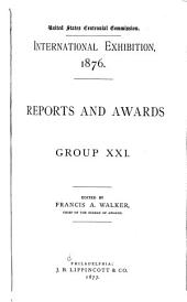 Reports and Awards ...