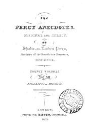 The Percy anecdotes, original and select, by Sholto and Reuben Percy