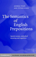 The Semantics of English Prepositions PDF