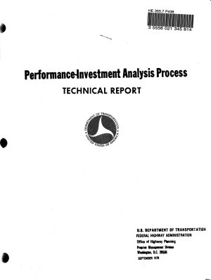 Performance investment Analysis Process