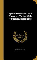AGENTS MONETARY LIFE   VALUATI PDF