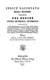 Il codice civile generale Austriaco confrontato colle leggi Romane e col gia codice civile d'Italia: Volume 7