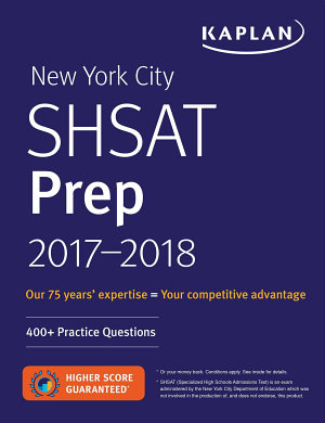 New York City SHSAT Prep 2017 2018 PDF