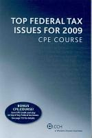 Top Federal Tax Issues for 2009 CPE Course PDF