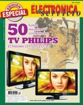 Electrónica y Servicio Edición Especial: 50 fallas resueltas y comentadas PHILIPS (chasises L01, L03 y LCD)