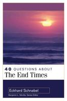 40 Questions about the End Times PDF