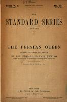 The Persian Queen  and Other Pictures of Truth PDF