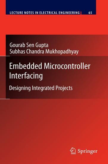 Embedded Microcontroller Interfacing PDF