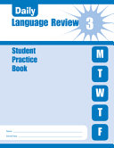 Daily Language Review Grade 3 Student Book PDF
