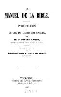 Le manuel de la Bible PDF