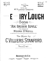 The Fairy Lough: Song from An Irish Idyll