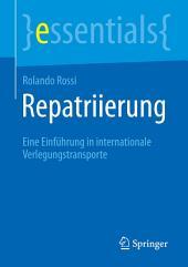 Repatriierung: Eine Einführung in internationale Verlegungstransporte