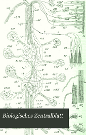 Biologisches Zentralblatt: Volume 18