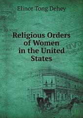 Religious Orders of Women in the United States