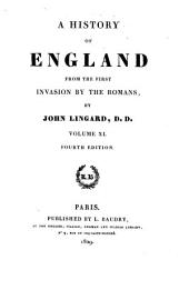 A history of England: from the first invasion by the Romans, Volume 11