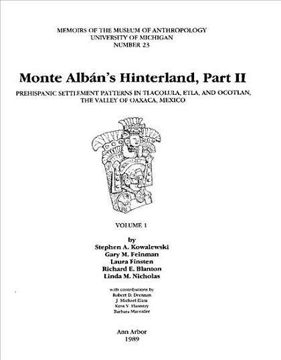 Monte Albn s Hinterland PDF