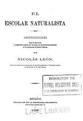 El Escolar naturalista